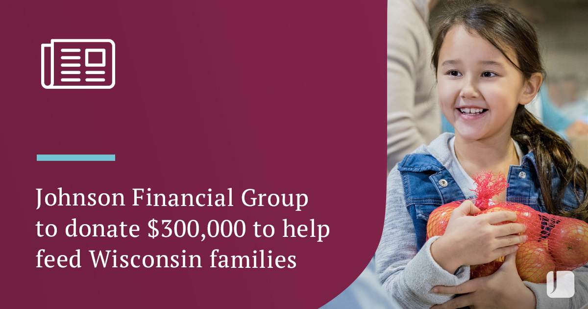 JFG Announces Donation to Feed Wisconsin Families.