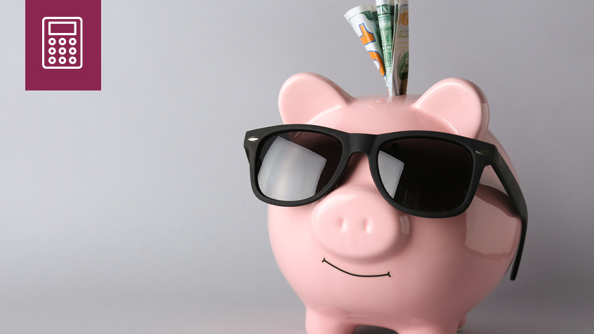 piggy bank sunglasses