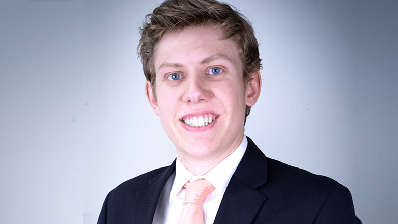 Johnson Financial Group intern, James Oates