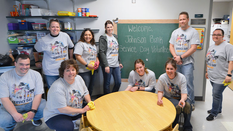 service day 2019 group of associates children's center
