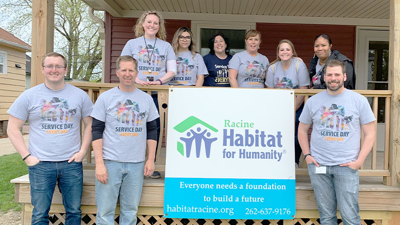 service day people habitat for humanity