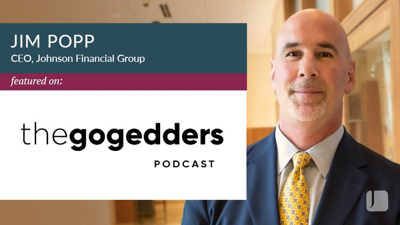 Jim Popp featured on Go Gedders podcast